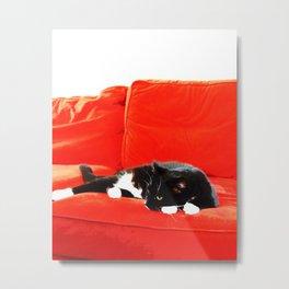 Meowlancholy Metal Print