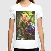 legend of zelda T-shirts featuring Link - Legend of Zelda by Sanjin Halimic