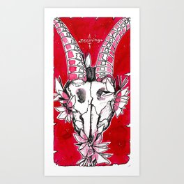 "#13 tarot card ""teeming"" Art Print"