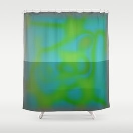 Yellow Color Leak Shower Curtain