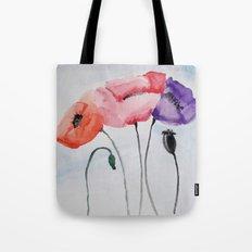 Poppies no 3 Tote Bag