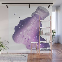 Spilled milky-way Wall Mural