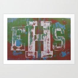 Emmett High School Art Print
