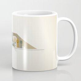 She's Beautiful   Leia Hologram Coffee Mug