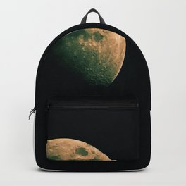 Day and night on the moon Backpack
