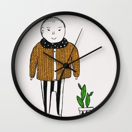 Two friends Wall Clock
