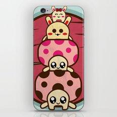 Mushrooms and iPhone & iPod Skin