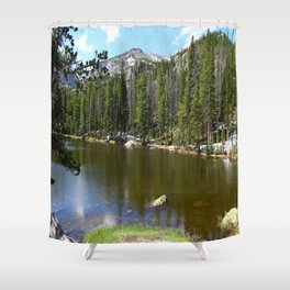 Dreamy View Of Nymph Lake Shower Curtain