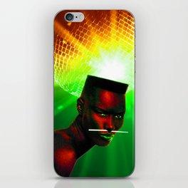 "Grace Jones ""Remixed"" iPhone Skin"