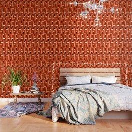 Bright floral decor Wallpaper