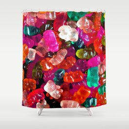 Yummy Gummies Shower Curtain