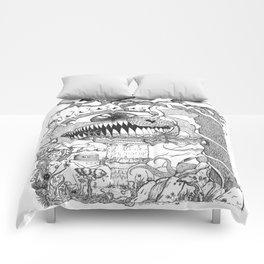 Monster's Garden! Comforters