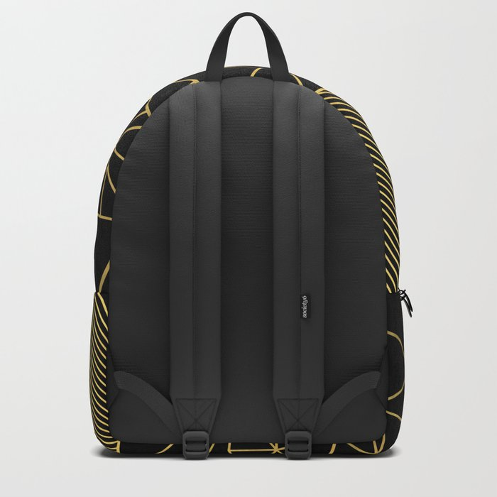Ab Lines 45 Gold Backpack
