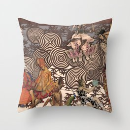 Dawn at The Ballets Russes Throw Pillow