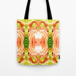 Flamingo illustration versus illustrated flamingo Tote Bag