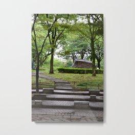 A Walk Through The Park Metal Print