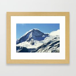 Mount Aspiring Framed Art Print