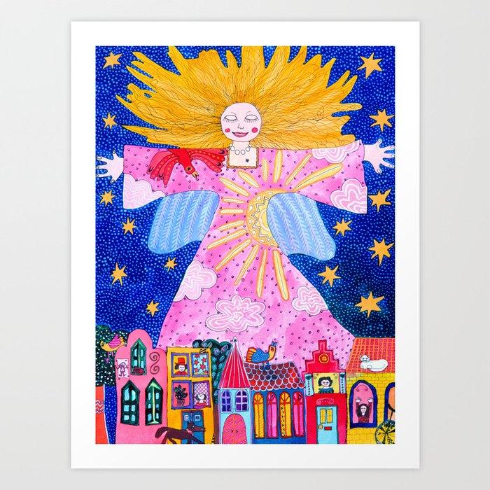THE GUARDIAN ANGEL Kunstdrucke
