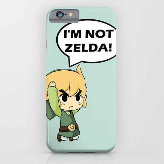 I M Not Zelda Link From Legend Of Zelda Iphone Amp Ipod