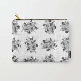 Abstract crystal pattern Carry-All Pouch