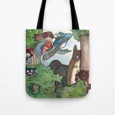 Studio Ghibli Crossover Tote Bag