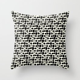Black Tie Collection Small Geo Throw Pillow