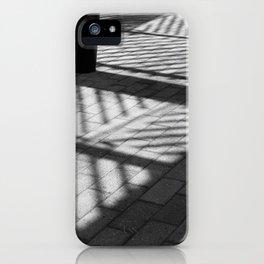 Black and white Bernie Milton iPhone Case