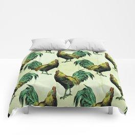 ROOSTERS Pop Art Comforters