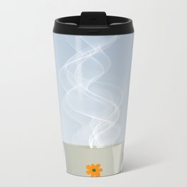 Steaming cup Metal Travel Mug