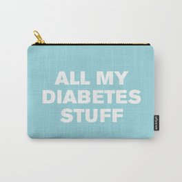 All My Diabetes Stuff (Island Paradise) Carry-All Pouch