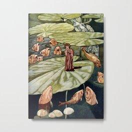"""""""Thumbelina"""" by Charles Robinson Metal Print"""