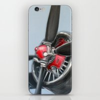airplane iPhone & iPod Skins featuring Airplane by Renato Verzaro