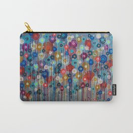 Big Happy Love floral Carry-All Pouch