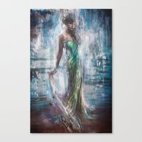 Canvas Prints featuring Eugenia by Lindsay Rapp