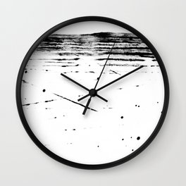 ABSTRACT LIGHT BEAM NO.3 Wall Clock