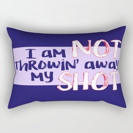 My Shot (Hamilton Series) Rectangular Pillow