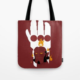 Right Hand of Doom Tote Bag