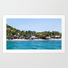 Chapel Reef at Apo Island Philippines Art Print