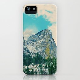 Swiss Mountain 2 iPhone Case