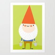 mr. gnomey pants Art Print