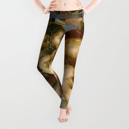 "Michelangelo ""The Last Judgment""(detail) Leggings"