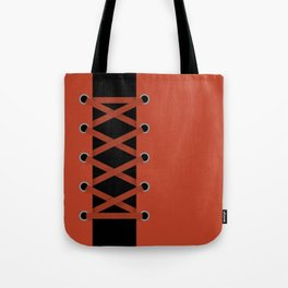 Laced Up Tote Bag