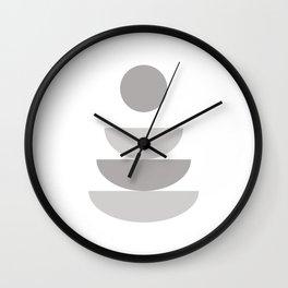 Zen - Sitting Wall Clock