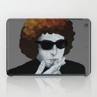 bob dylan iPad Cases featuring Bob Dylan by Justin McElroy