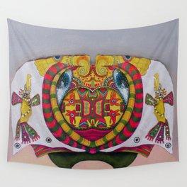 Simetria de un rostro Wall Tapestry
