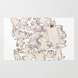 Kitteh (Wonderful Mess Series) Rug