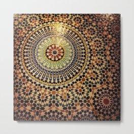 Moroccan Tiles. Metal Print
