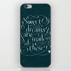Sweet Dreams Are Made Of These iPhone & iPod Skin