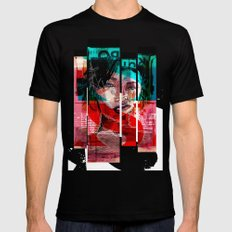 SENSUAL EVERAFTER SMALL Black Mens Fitted Tee