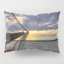 Sunset off the Bow Pillow Sham